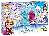 Craze-54230-Magic-Sand-Frozen-Winter-Magic-Box-Ca-600g-Sand-mit-Glitzer-in-3-verschiedenen-Farben