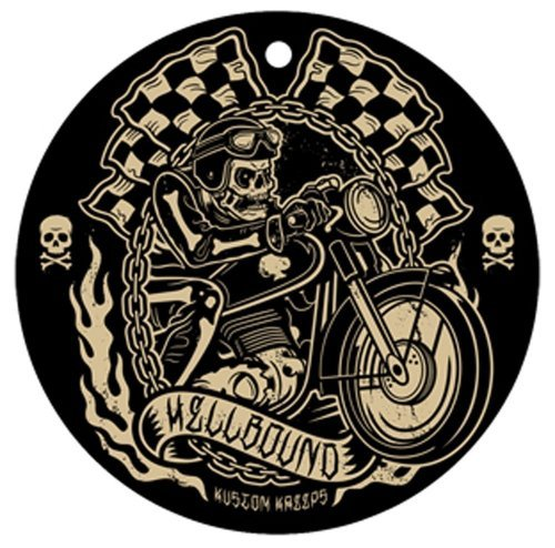 Sourpuss Hellbound Coffee Scented Air Freshener by Sourpuss