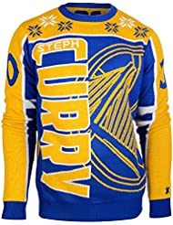 Golden State Warriors Stephen Curry # 30 ras du cou NBA Ugly Sweater