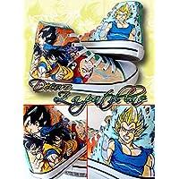 Zapatillas customizadas personalizados lona Dragon Ball, regalos para cumpleaños - regalos para el - regalos para ella - regalos aniversario - San Valentin -