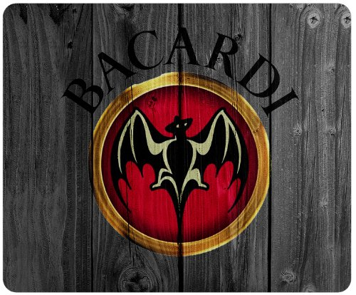 bacardi-logo-wood-background-style-mousepad-square-mousepad-customized-by-the-micase
