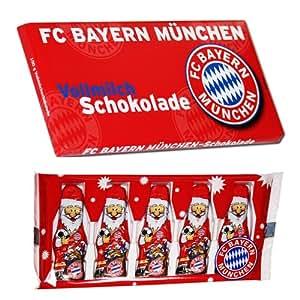 Bayern München Bundesliga Team Schokolade mit Weihnachtsmännern