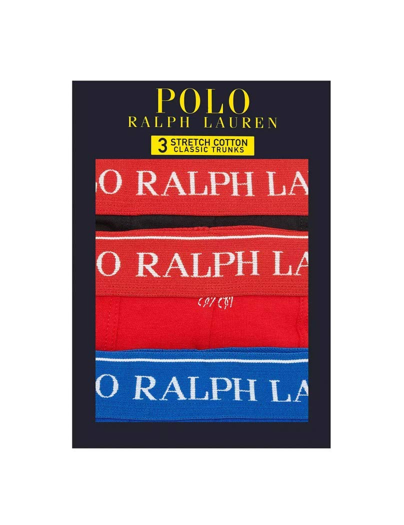 Ralph Lauren – Pack de Tres Boxers Underwear para Hombre Polo 714662050044