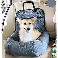 AnGe Protector de Asiento de Coche para Mascota Perro Gato Impermeable Plegable Alfombrilla o Caja de