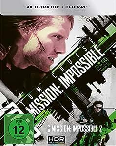 M:I-2 - Mission: Impossible 2 (4K Ultra HD) (+ Blu-ray) limitiertes Steelbook (exklusiv bei Amazon.de)