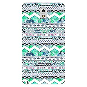 Jugaaduu Aztec Girly Tribal Back Cover Case For Samsung Galaxy Note 3 N9000