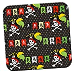 Pirate Mania With Treasure & Parrots Coaster / Pack of Coasters