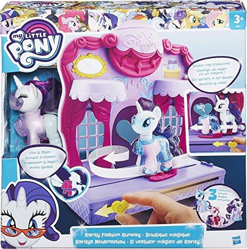 y B8811EU4 - Raritys Modenschau, Spielset (Little Pony Spielzeug)