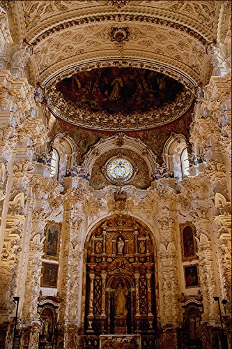 597095 La Cartuja Monastery Granada Spain A4 Photo Poster Print 10x8
