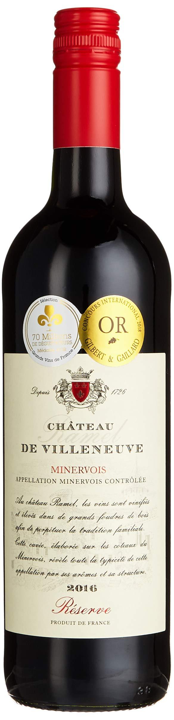 Chteau-Ramel-de-Villeneuve-RSERVE-Minervois-AOC-Mis-en-bouteille–la-proprit-Cuve-Trocken-3-x-075-l