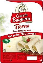 García Baquero Queso Tierno, Lonchas 80 gr