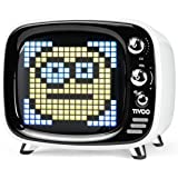 Divoom Tivoo Retro Bluetooth Lautsprecher - Pixel Art DIY Box, RGB programmierbar 16X16 LED, Unterstützung Android & iOS; TF/
