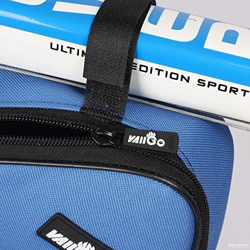 VAIIGO Outdoor Sport Triangle Rahmen Fahrrad Tasche Fahrrad-Rahmen tasche aus Nylon, verschiedene Farben Orange