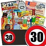 30. Geburtstag | DDR Produkte | 24tlg. DDR Geschenk Set