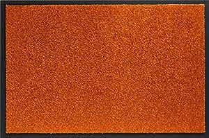 ID Mat 406016 Mirande Tapis Paillasson Fibre Nylon/PVC Caoutchouté Orange Vif 60 x 40 x 0,9 cm