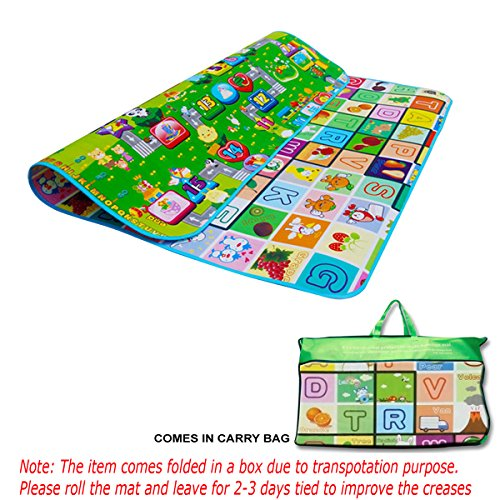 kids-crawling-educational-2-side-play-mat-game-soft-foam-picnic-carpet-200x180cm