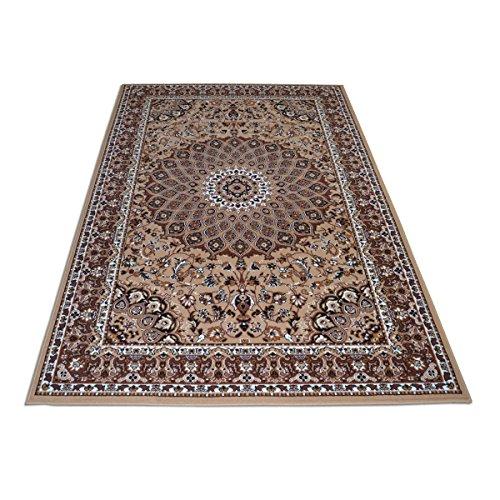 WEBALFOMBRAS Alfombra Clasica Estilo Persa Preciosa-Disponibles Diferentes Medidas Royal Shiraz 2082-BEIGE 160x230