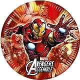 Marvel Avengers Multi Heroes 8 Teller groß 23cm