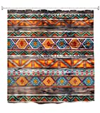 A.Monamour Colorido Patrón Tribal Étnico Pintado sobre