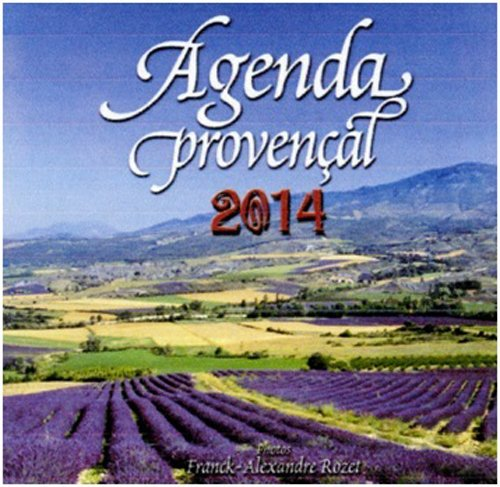 AGENDA PROVENCAL 2014 (grand format)