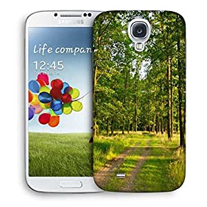 Snoogg Greeny Forest Designer Protective Phone Back Case Cover For Samsung Galaxy S4