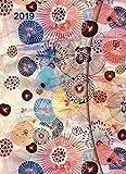 Flower Fantasy 2019 - Magneto Diary large, Taschenkalender, Wochenkalender, Buchkalender - 16 x 22 cm