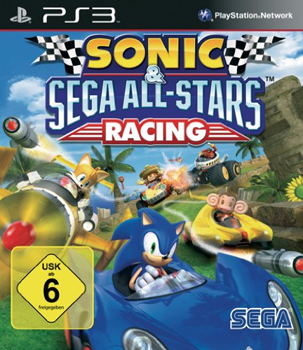 Sonic & SEGA All-Stars Racing (Playstation 2-sonic)