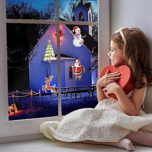 Mini Projektor Beleuchtung Weihnachtsdekoration Halloween 14 Slides Wasserdichte Lichter Für Indoor Hochzeit Party Urlaub Wand Festival Spotlight Fairy Landschaft Night LED 2017 Neu - 3