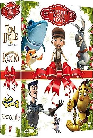 Noël enfants : Festin de requin 2 + Pinocchio + Tom Little et le Miroir Magique + Les Folles aventures de Rucio