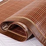 WENZHE Bambus Matratzen Sommer-Schlafmatten Strohmatte Teppiche Zuhause Lieferungen Zusammenklappbar Doppelseitige Verwendung Multifunktion Mit Diesem Set 1,5/1,8/2,0 M (größe : 2.0×2.15m)