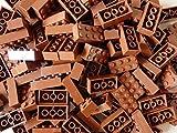 LEGO Bricks: Brown 2x4. Part 3001 (X 25) by LEGO