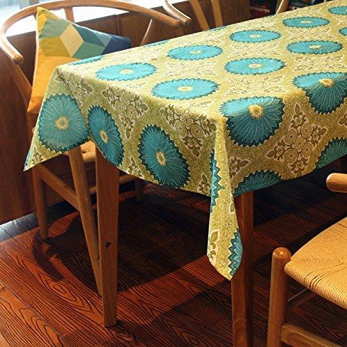 MoMo Europäischen Stil Kreative Polyester Tisch Wasserdicht Tischdecke Rechteckigen Hause TV Schrank Staubdicht Tuch,60x60cm -