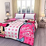 #3: Renown Minions Cartoon Kids Design Print Reversible Single Bed AC Blanket / Dohar