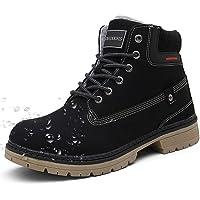 Stivali da Neve Uomo Donna Inverno Scarpe Trekking Scarpe Caldi Snow Boots Impermeabili Stivaletti Pelliccia Stringate…