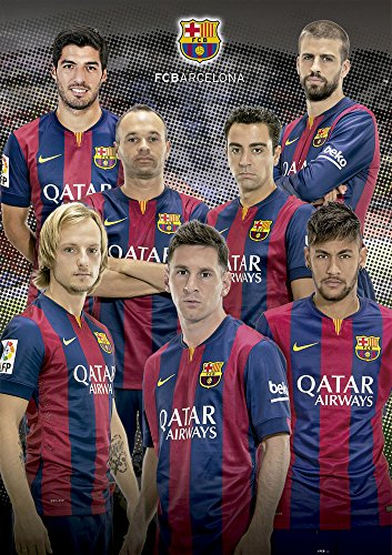 Educa 16300 - Collage FC Barcelona 2014-2015 - 1000 Teile Puzzle