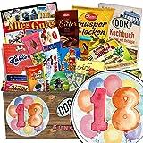 Geburtstagsgeschenk 18. | Schokoladenkorb | Geschenke 18 Jahrestag | Schokolade Paket | Geschenk Idee