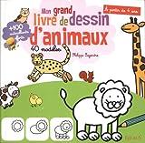 Telecharger Livres Mon grand livre de dessin d animaux 40 modeles (PDF,EPUB,MOBI) gratuits en Francaise