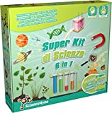 Science4you- Super Scienze Kit 6 in 1, Gioco Educativo e Scientifico STEM