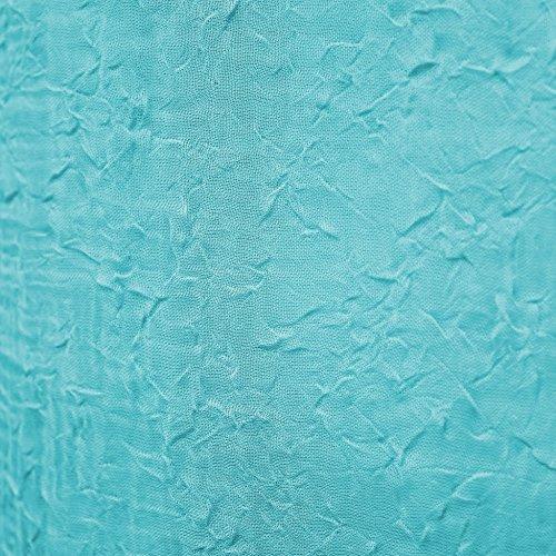 Douceur d'Intérieur Panneau Oeillet Voile Crash Paloma Turquoise