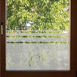 651 / 65cm hoch Sichtschutzfolie Fensterfolie Glasdekor Folie