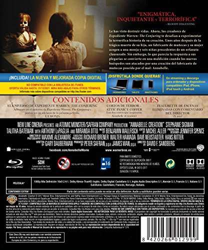 Annabelle (Creation) Blu-Ray [Blu-ray]
