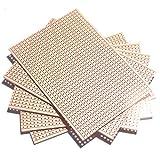 5x Kupfer Strip Prototyping veroboard 64x 95mm Lochrasterplatine,