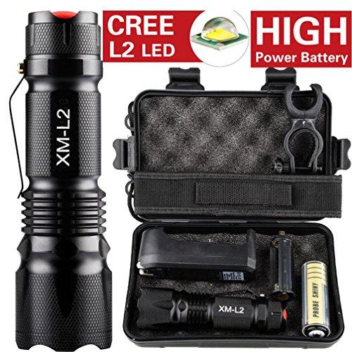 Taktisch 5000lm Schattenfalken T6 Polizei Taschenlampe Tragbare Taktische