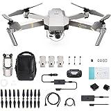 DJI - Mavic Pro Fly More Combo Platinum (Version UE) | Incl. 1 Drone Quadricoptère, 3 Batteries de Vol Intelligente, 1…