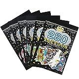 COM-FOUR® 6x Tattoo-Blöcke für Jungs, mit jeweils 280 verschiedene Abziehtattoos in unterschiedlichen Motiven (06 Stück - Jungs)
