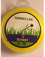 Turner Nylon Rope Bundle for Brush Cutter (50m, 3mm Square)