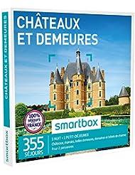 SMARTBOX - Coffret Cadeau - CHÂTEAUX ET DEMEURES DE CHARME - 355 séjours : châteaux, demeures anciennes, manoirs ou domaines
