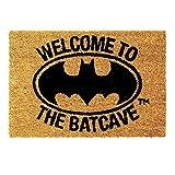 Batman Fußmatte - Batman - Welcome to the Batcave Fußabtreter Schmutzfangmatte Superheld Türmatte