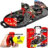 New Manual Hand Control Generator Slot Car Racing track Arena Kids Toy Childrens Game In Carry Case Xmas Gift - Eurotrade W Ltd - amazon.co.uk