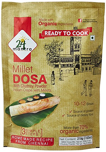 24 Mantra Millet Dosa Mix, 216g